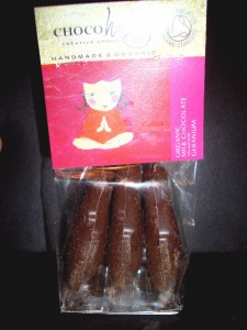 Chocoholly Organic Milk Chocolate Fish With Geranium