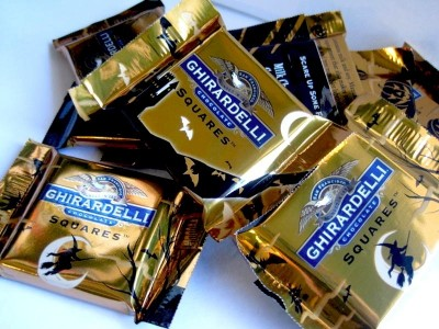 Ghirardelli Halloween Milk Chocolate with Caramel