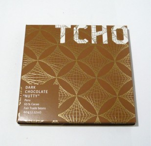 TCHO 'Nutty' Dark Chocolate