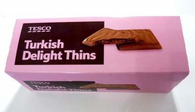 Tesco Turkish Delight Thins