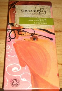 Chocoholly Organic Milk Chocolate With Cardamom