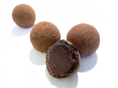 Beyond Chocolate Caramelised Orange Truffles