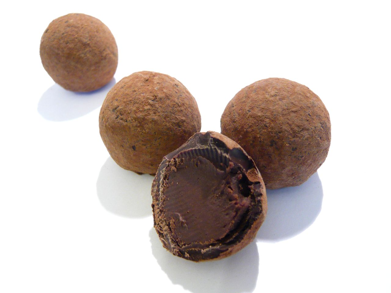 chocolate truffles chocolate truffles with sea salt dark chocolate ...