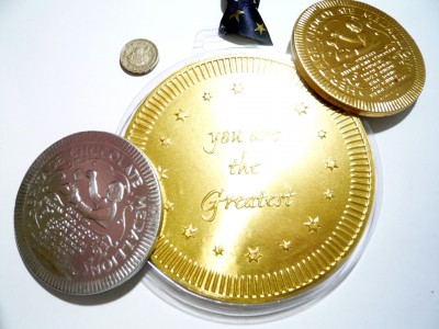 Heritage Chocolate Medals