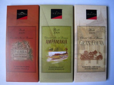Valrhona Estate Grown and Grands Crus Flavored Bars
