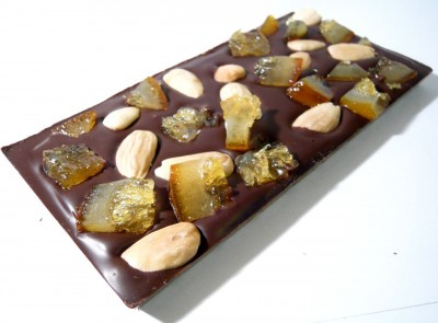 Chocoholly Orange & Almond Milk Chocolate