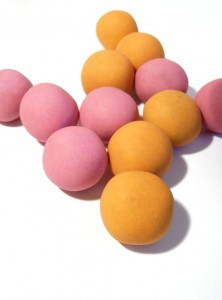 Waitrose Cherry & Orange Truffle Boules