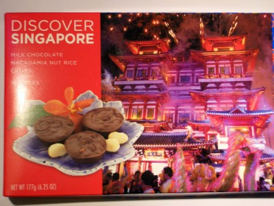 Discover Singapore Nut & Rice Crisps