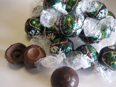 Lindt Lindor Dark Peppermint