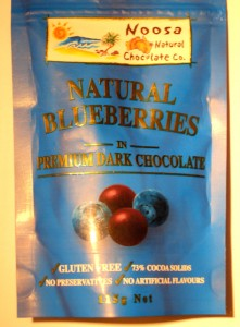 Noosa Blueberries In Dark Chocolate