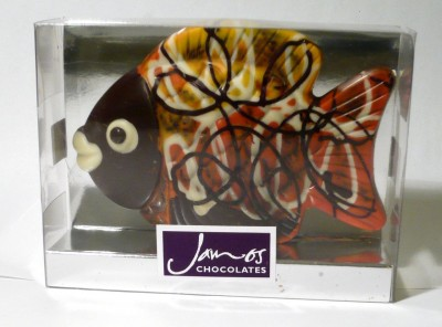 James Dark Chocolate Fish