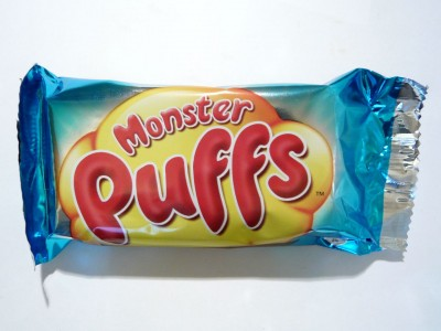 Milk Chocolate Monster Puffs