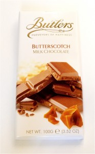 Butlers Butterscotch Milk Chocolate