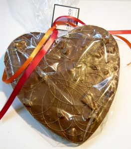 Chococo Milk Chocolate Honeycombe Heart