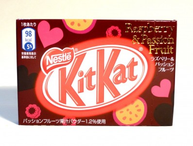 Nestlé KitKat Raspberry & Passion Fruit
