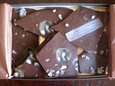 Geminus Chocolate Diamond Bark