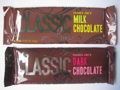 Trader Joe's Classic Milk and Dark Chocolates