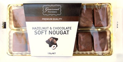Gourmet Provisions Hazelnut and Chocolate Soft Nougat