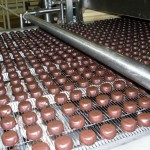 Chocolates on a conveyer