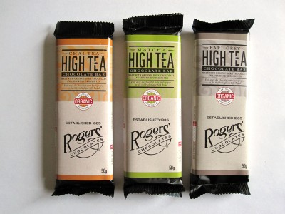 Rogers Chocolates High Tea Bars