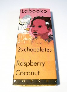 Zotter Labooko Duo Raspberry & Coconut