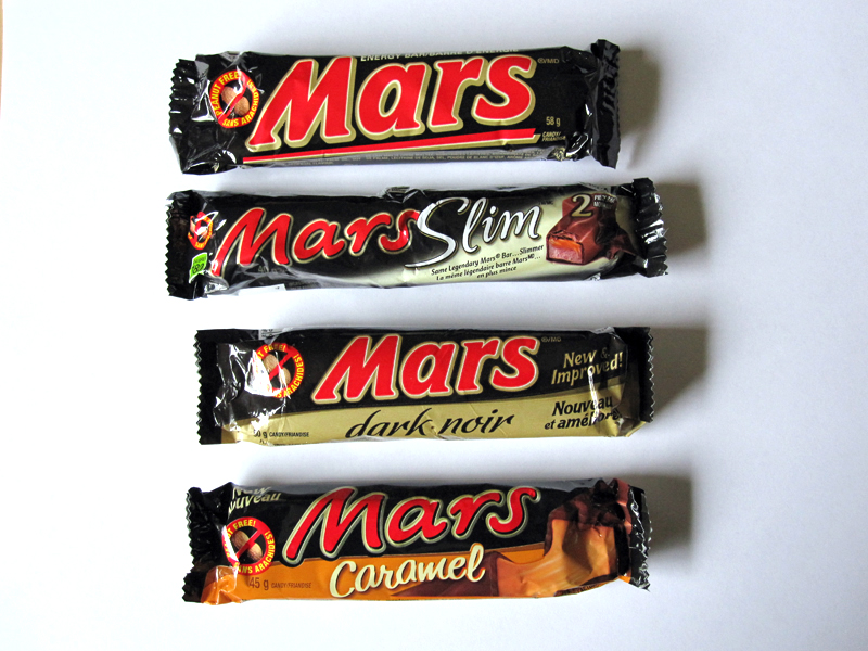 Canadian Mars Bars