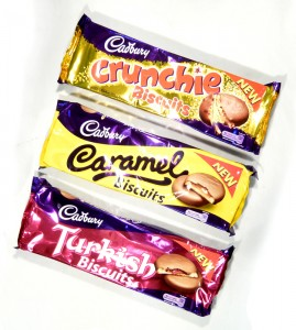 Cadbury Crunchie, Caramel & Turkish Biscuits