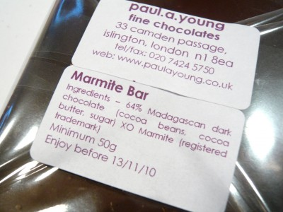 Marmite Chocolate
