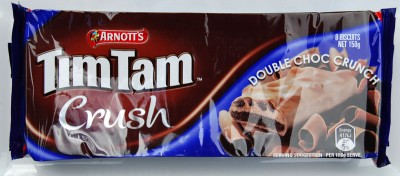 Arnott's Tim Tam Crush Double Choc Crunch