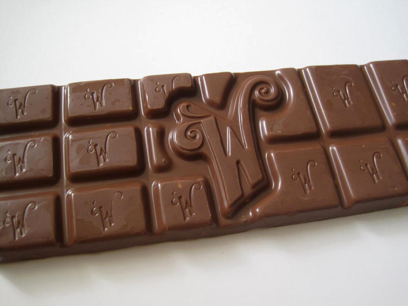 what was the first chocolate bar ever made