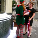 Asking directions to the North Pole
