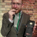 """Paul A. Young tries the """"official"""" Marmite bar"""