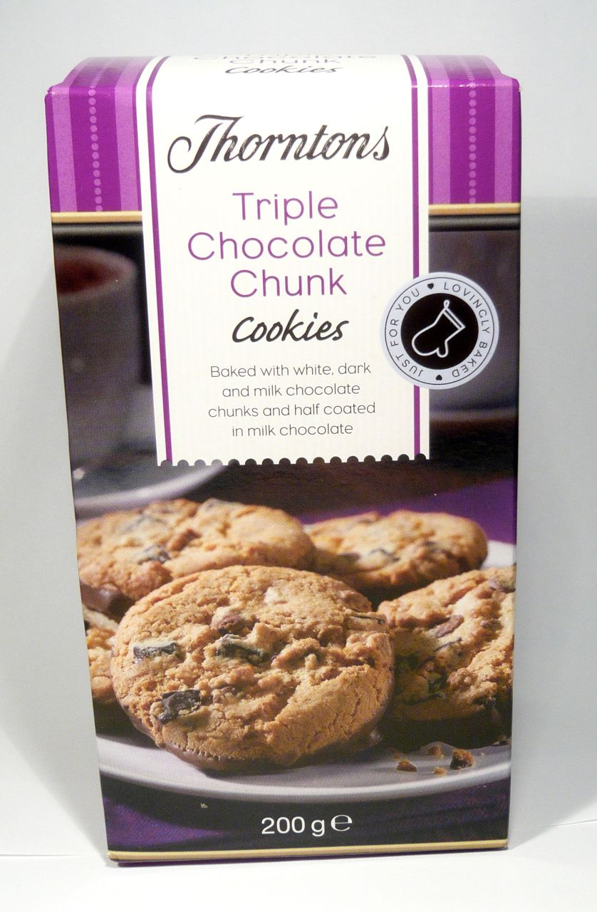 Thorntons Triple Chocolate Chunk Cookies Review