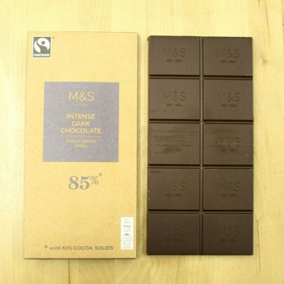 Wondering how marksandspencer make a 100g 85 single origin Fairtradehellip