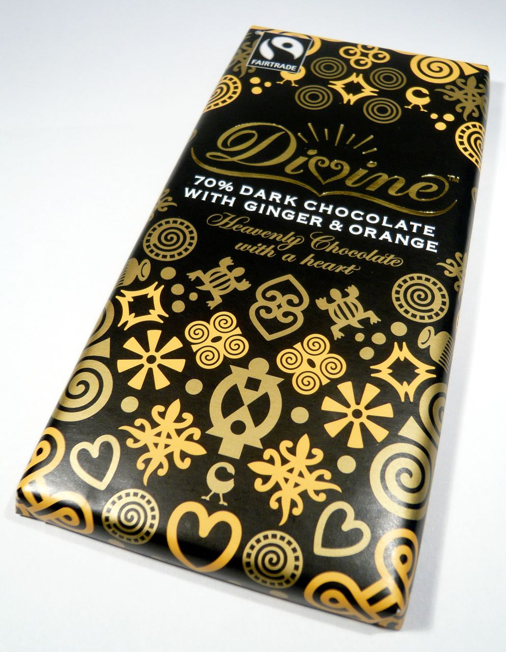 Divine Dark Chocolate With Ginger & Orange Review