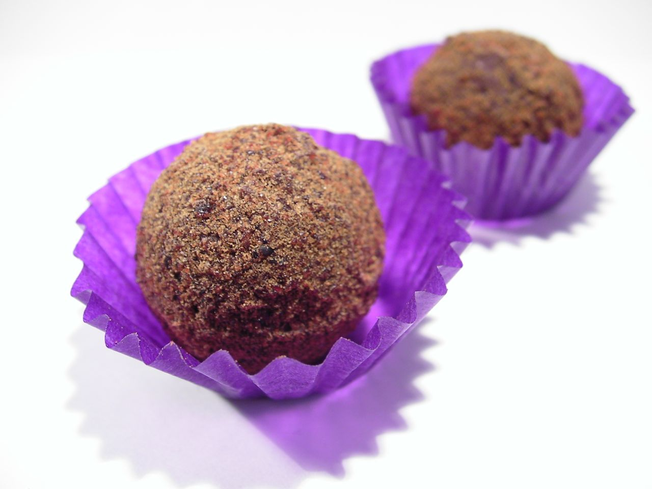 These Soreen truffles are large, with a hard, slightly sticky ...