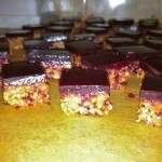 Nuts/ Caramel & Blackberry Jelly