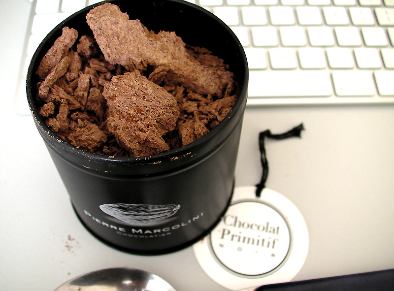 of the samples we were given on our recent trip to Pierre Marcolini ...