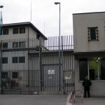 Outside the prison