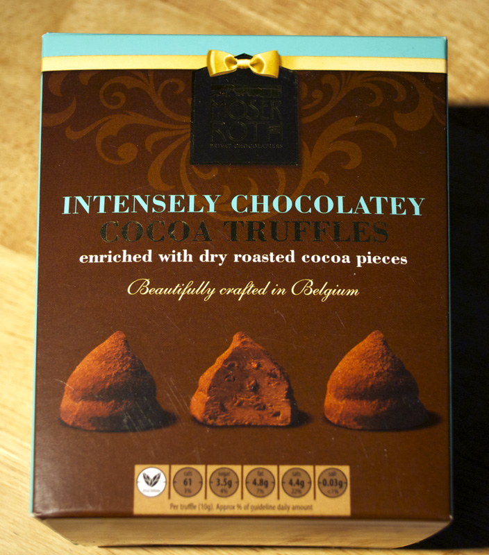 Moser Roth Intensely Chocolatey Cocoa Truffles