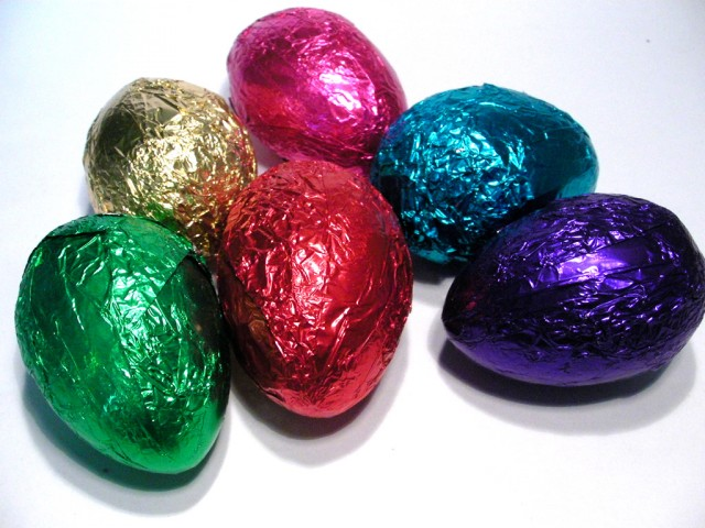 Chococo Milk Chocolate Rattle Eggs