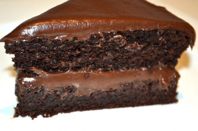 Chocolate And Kidney Bean Cake