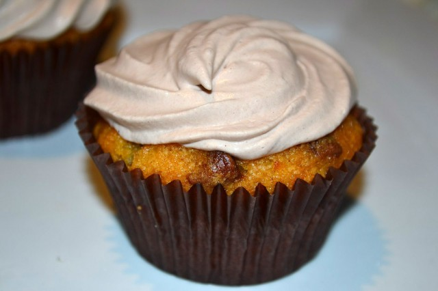 Chocolate Carrot Cupcakes