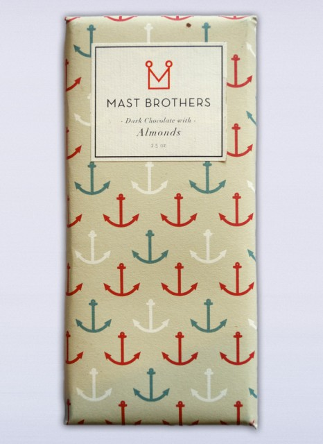 Mast Brothers Dark Chocolate With Almonds