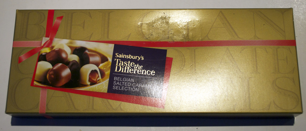 Sainsbury Belgian Salted Caramels Selection