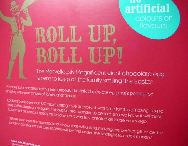 Thorntons Marvellously Magnificent Easter Egg
