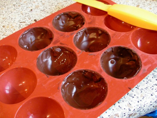 Chocolate In Moulds