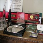 Some of the awards Halen Môn have won.