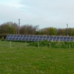5 - 10% of Halen Môn's energy is generated by solar power.