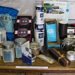 Some of the products that contain Halen Môn salt.